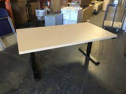 friant electric rising desk adjustable height electric desk