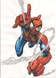 ultimate spider man drawing