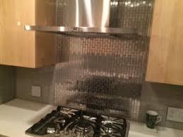 Best Stainless Steel Tile Images On Pinterest Stainless Steel - Stainless tile backsplash
