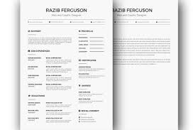 Resume Sample Format Docx by Free Resume Template