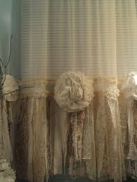 Shabby Chic Window Panels by Shabby Chic Fabric And Lace Garland Banner Pink Photo Prop