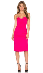 hot pink dress lumier after strapless dress in hot pink candy pink