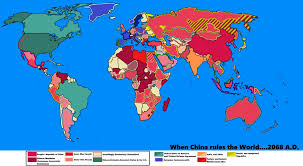 China On The Map by When China Rules The World By Goliath Maps On Deviantart