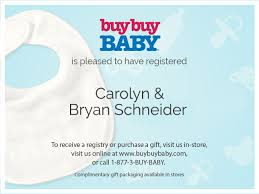 stores with baby registry buybuy baby
