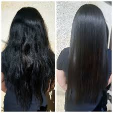 keratin treatment on black hair before and after things you need to know before straightening your hair using chemicals