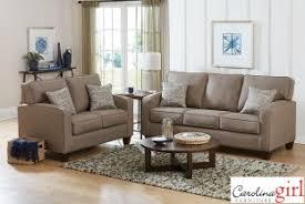 Surplus Furniture Kitchener Jitterbug Taupe Sofa And Loveseat Surplus Furniture