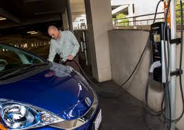electric cars charging electric vehicle charging stations now available at disneyland