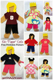 felt paper dolls u2013 quiet activity for kids getsnazzy com