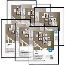 Walmart Floor Plan Mainstays 10x13 Flex Float Frame Set Of 6 Walmart Com