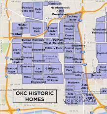 okc historic homes neighborhood map the jarrett household