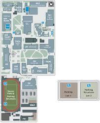 Asu Map Campus Maps U0026 Parking Campus Map Los Angeles City College