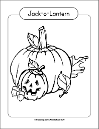 six scary halloween coloring pages freeology