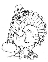 free printable turkey coloring pages for kids within free