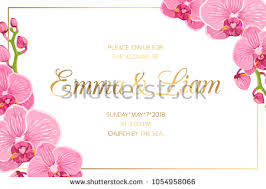 invitation card design template for event gold wedding templates download free vector art stock graphics