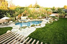Backyard Pool Landscape Ideas Pool Landscaping Design Swimming Pool Landscaping Designs With A