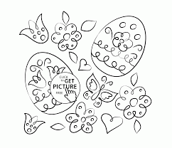 beautiful easter coloring page for kids coloring pages printables