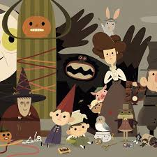 over the garden wall is one of my all time favorite pieces of