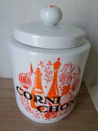 vintage french porcelain cornichons jar french porcelain pickle