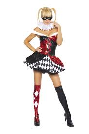 Womens Joker Halloween Costume Clown Women Halloween Costume 89 99 Costume Land