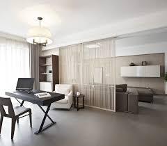 bureau in voor een home office in de woonkamer
