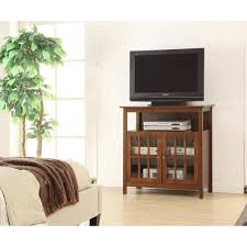 unit tv bedroom corner television stand extra long tv stand small black