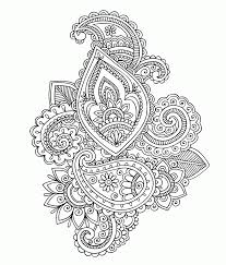 persian design coloring page coloring home