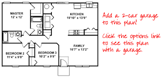 4 Bedroom Floor Plans For A House Modren House Floor Plans 3 Bedroom 2 Bath With Garage Narrow Lot