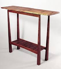Tall Outdoor Table Tall Table Syd Dunton Woodwork Sculpture