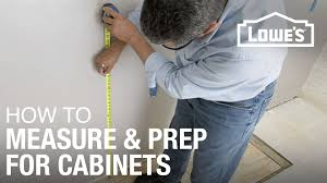 how to prep and paint kitchen cabinets lowes how to install kitchen cabinets prep measure