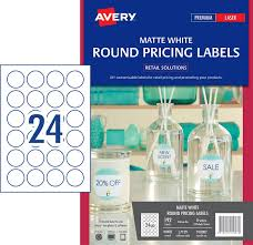 removable round labels 910007 avery australia