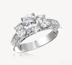 princess cut 3 engagement rings 3 engagement ring with princess cut pave band