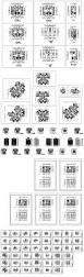 1000 modern house autocad plan collection free cad blocks