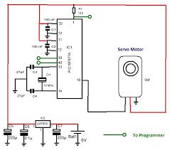 efkids pic basic servo motor control using pic16f877a