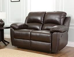 Abbyson Leather Sofa Reviews Abbyson Westwood Top Grain Leather Loveseat Home