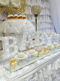 white and gold baby shower heavely baby shower party ideas baby shower themed baby