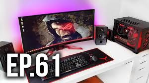 room tour project 61 best gaming setups ft frosted tech youtube