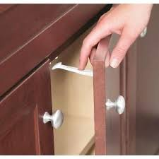 Child Lock Kitchen Drawers by Child Proof Cabinet Locks Ebay