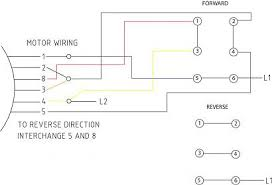 motor wiring diagram single phase wiring diagram and schematic