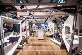 audi sport store audi sorgte in der concept mall berlin mit einem eigenen