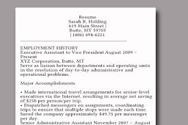 Resume Job History Format by How To Write A Dynamic Resume 7 Steps With Pictures Wikihow
