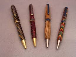 Handcrafted Wooden Pens - beautiful wood pens unique wood species craftsbyus