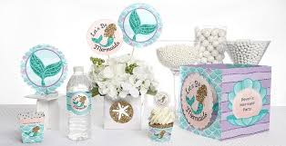 mermaid baby shower unique baby shower themes by babyshowerstuff