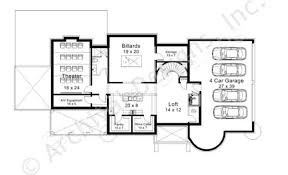 four car garage house plans bernini estates house plan home plans by archival designs