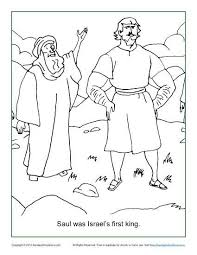 samuel coloring pages from the bible kids coloring page from what u0027s in the bible featuring saul and