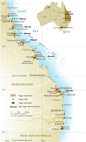 Map Of Queensland Australian Sugarcane Industry Overview Australian Sugar Milling