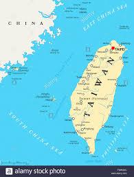 Map Of Taiwan Taiwan Map Stock Photos U0026 Taiwan Map Stock Images Alamy