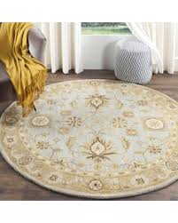 Round Wool Rugs Fall Is Here Get This Deal On Safavieh Handmade Antiquity Light