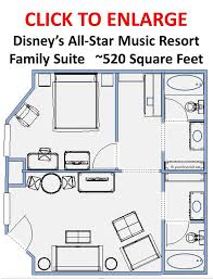 review the family suites at disney u0027s all star music resort