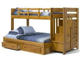 Kids Beds  Cheap Bunk Beds With Stairs Bunk Beds With Stairs - Upholstered bunk bed