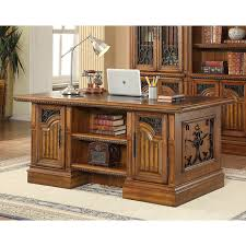 Executive Desk Parker House Barcelona Home Office Executive Desk With Library